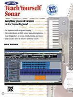 Alfred's Teach Yourself Sonar Book & DVD