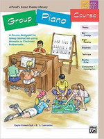 Alfred's Basic Group Piano Course: 2-CD set, Level 1