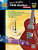 Alfred's Max: Learn to Play TAB Guitar Complete - Book & DVD