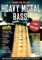 Guitar World: How to Play Heavy Metal Bass! DVD