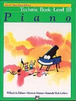 Alfred's Basic Piano Course: Technic Book 1B