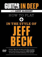 Guitar World in Deep: How to Play in the Style of Jeff Beck DVD