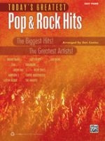 Today's Greatest Pop & Rock Hits - Easy Piano