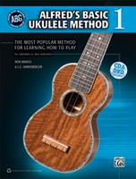 Alfred's Basic Ukulele Method 1 Book, CD & DVD
