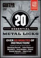 Guitar World: 20 Essential Metal Licks DVD