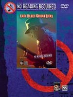 No Reading Required - Easy Blues Guitar Licks DVD