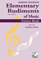 Elementary Rudiments of Music Answer Book, 2nd Edition TWERA