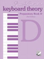 Keyboard Theory Preparatory Series, 2nd Edition: Book D  TVPD