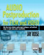 Audio Postproduction for Film and Video, 2nd Edition