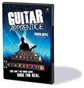 Guitar Apprentice - Rock Hits DVD