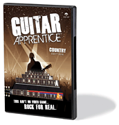 Guitar Apprentice - Country DVD