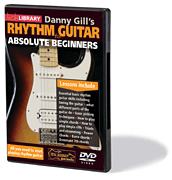 Danny Gill's Rhythm Guitar for Absolute Beginners DVD