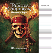 Pirates of the Caribbean - Manuscript Paper