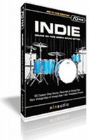 Indie Addictive Drums ADpak CD-ROM