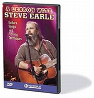 A Lesson With Steve Earle - Guitars, Songs, Picking