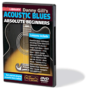 Acoustic Blues for Absolute Beginners DVD - Lick Library