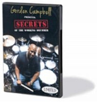 Gorden Campbell Presents Secrets of the Working Drummer DVD