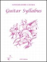 Guitar Syllabus Conservatory Canada