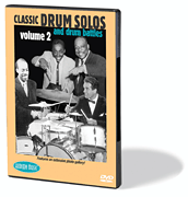 Classic Drum Solos and Drum Battles, Volume 2 DVD