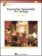 Favorite Spanish Art Songs - High Voice