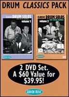 Drum Classic Pack - DVD