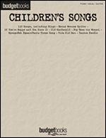 Budget Books: Children's Songs