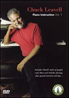 Chuck Leavell - Piano Instruction, Vol. 1 DVD