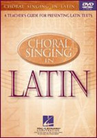 Choral Singing in Latin DVD