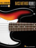 Hal Leonard Bass Method Book 1 – 2nd Edition Book/Online Audio