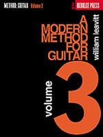A Modern Method for Guitar - Volume 3 (Book Only)