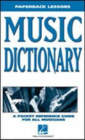 Music Dictionary - Paperback Lessons