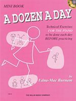 A Dozen A Day Mini Book/CD Pack