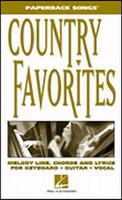 Country Favorites - Paperback Songs