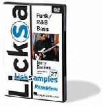 Licksamples: Funk / R&B Bass DVD