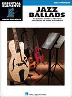 Jazz Ballads - Essential Elements Guitar Ensembles
