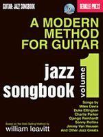 A Modern Method For Guitar - Jazz Songbook, Volume 1