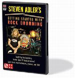 Steven Adler's Getting Started with Rock Drumming DVD