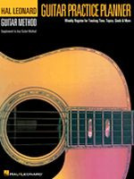 Hal Leonard Guitar Method - Guitar Practice Planner