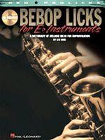 Bebop Licks for E-Flat Instruments
