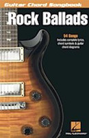 Rock Ballads - Guitar Chord Songbook