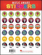 Music Award Stickers - Piano, Children
