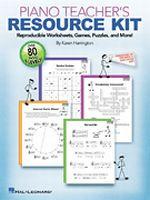 Piano Teacher's Resource Kit