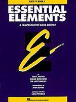 Essential Elements Book 1 - Bb Tenor Saxophone