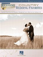 Country Wedding Favorites - Piano/Vocal/Guitar Songbook