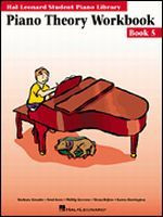 Hal Leonard Student Piano Library - PIANO THEORY WORKBOOK - BOOK HL9872