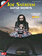 Joe Satriani - Guitar Secrets Book & CD