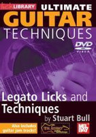 Ultimate Guitar Techniques: Legato Licks and Techniques DVD