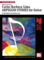 Carlos Barbosa-Lima Arpeggio Studies for Guitar