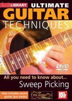 Ultimate Guitar Techniques: Sweep Picking DVD