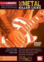 50 Metal Killer Rock Licks DVD